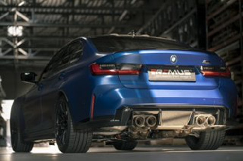 REMUS BMW G8X M3 M4 Axle Back RACE Exhaust System