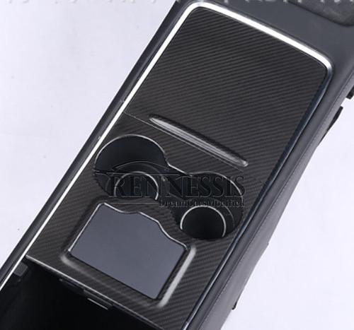 TESLA Model 2021+ 3 Matte Carbon Fibre Centre Console Trims