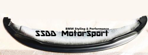 Matte Black BMW E92 E93 06-09 Arkym Style Front Splitter