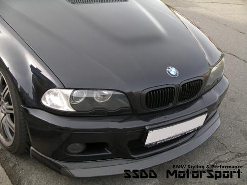 E46 M3 Strasenntech Style Front Splitter | Carbon Fibre + FRP or Full FRP