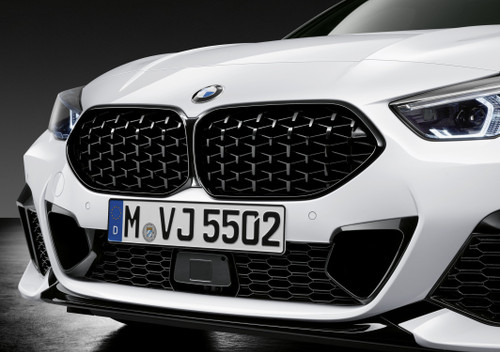 Genuine BMW M Performance Black Grille in Mesh Design, F44 Gran Coupe