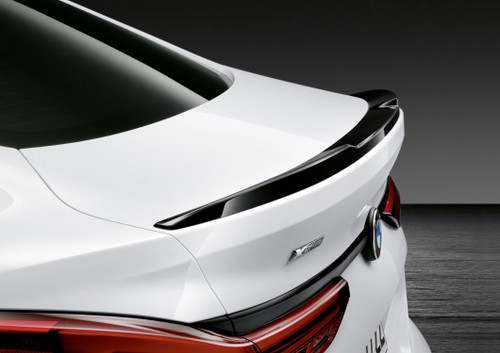 Genuine BMW M Performance Boot Spoiler, Primed, F44 Gran Coupe