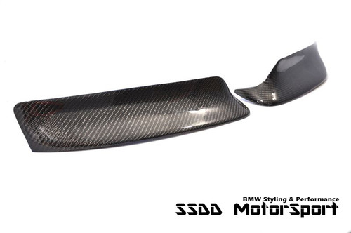 CSL Inspired Carbon Fibre Corner Splitters for E46 M3