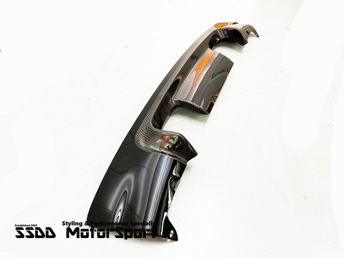 BMW E46 M3 CSL Carbon Diffuser