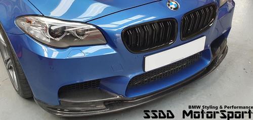 F10 M5 3D style carbon fibre front splitter