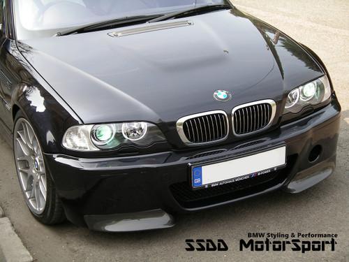 E46 M3 CSL bumper E46 M3 fitment