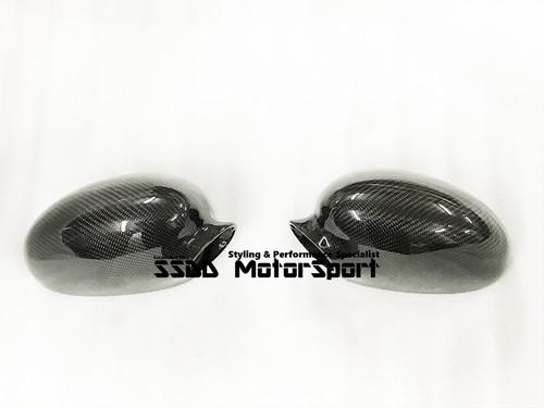 BMW E46 M3 01-06 Carbon Fibre Replacement Mirror Covers