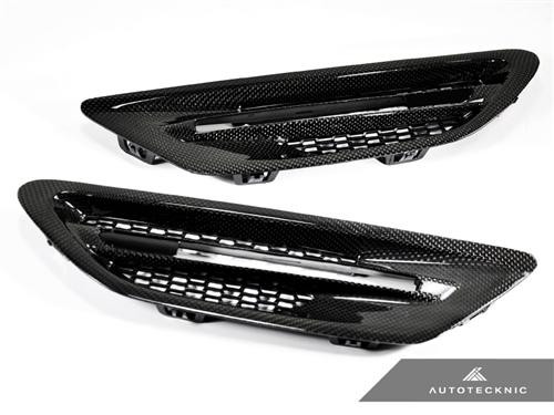 Autotecknic BMW F10 M5 Carbon Fibre Side Vents Grilles