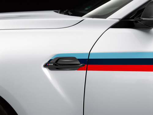 Genuine BMW F87 M2 Competition Gloss Black Side Vents