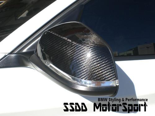 BMW F20 F30 F32 Carbon Fibre Performance Look Mirror Covers