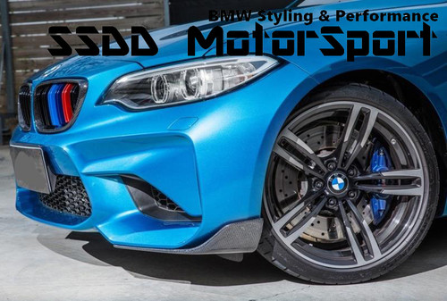 F87 M2 M Performance Look Front Splitters