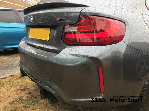 BMW F87 M2 & M2 Competition EVO Carbon Fibre Rear Diffuser