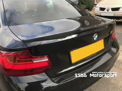 F22 F87 M2 Rennessis Carbon Spoiler