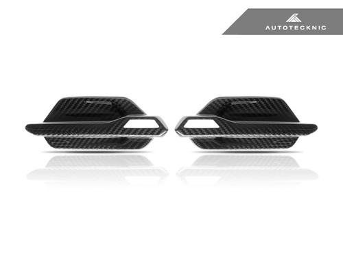 AutoTecknic BMW F87 M2 Dry Carbon Fibre Side Vents