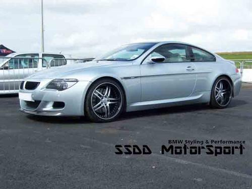 V Racing Carbon Fibre Front Splitter for BMW E63 E64 M6
