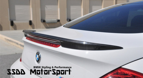 V Racing Carbon Fibre Boot Spoiler for E63 Coupe and E64 Convertible
