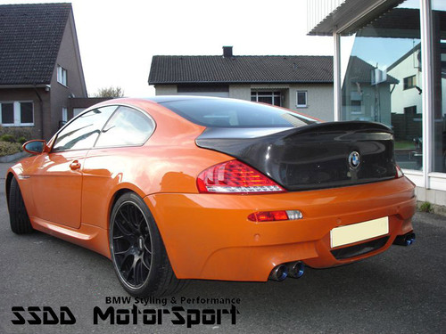 CSL Inspired Carbon Fibre Bootlid for E63 Coupe