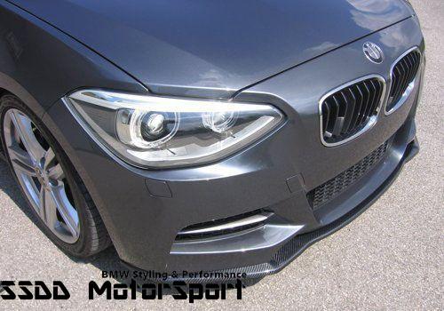 KERSCHER Carbon Fibre Front Splitter for BMW F20 F21 | 10-14 Pre-LCI MSport