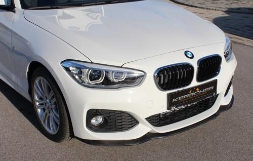 KERSCHER BMW F20 F21 LCI MSport Carbon Fibre Front Splitter