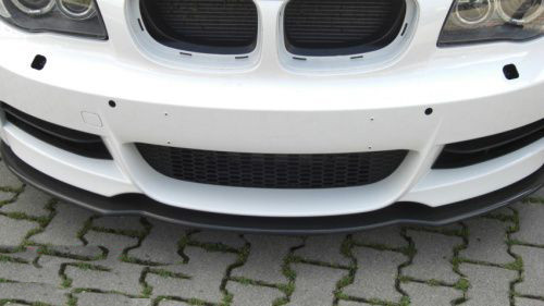 KERSCHER carbon front splitter for BMW E82 E88 MSport