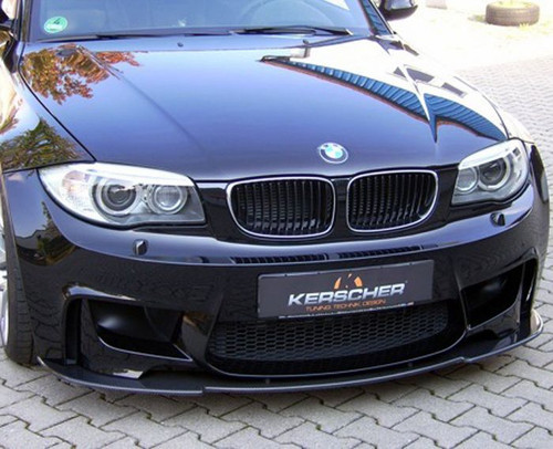 E82 1M Coupe Kerscher Carbon Front Splitter
