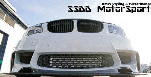 E82 1M GT4 Carbon Front Splitter