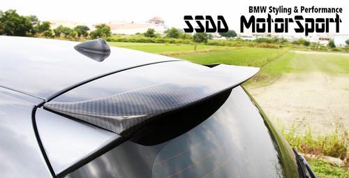 E81 E87 carbon fibre roof spoiler