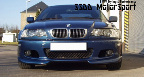 E46 AC style front splitters