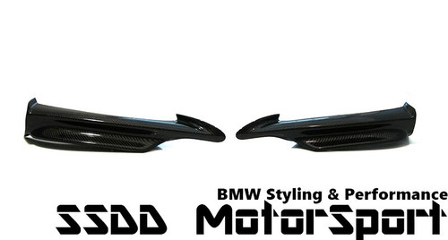 E90 E91 pre-lci Msport performance carbon fibre splitters