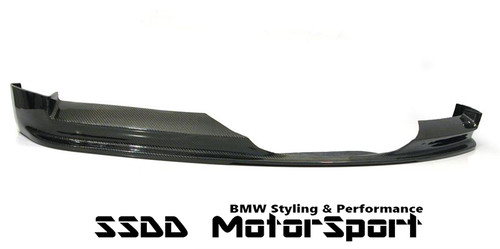 Rennessis full width carbon fibre front splitter forE90 E91 Pre LCI Msport