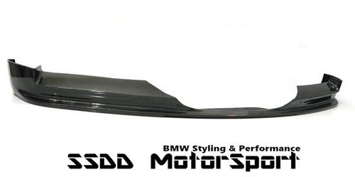 Rennessis full width carbon fibre front splitter forE90 E91 Pre LCI Msport