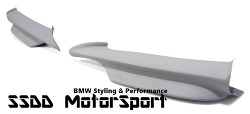 E90 E91 MSport Pre LCI FRP Plastic Performance Look Splitters