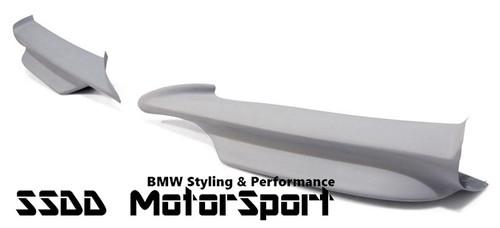 E90 E91 MSport Pre LCI FRP Plastic Performance Look Splitters