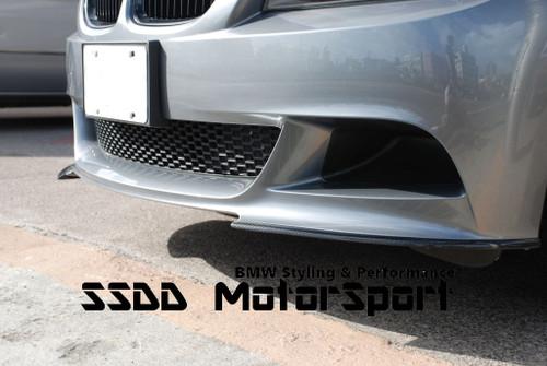 Carbon fibre splitters for BMW E90 E91 Performance Front Bumper