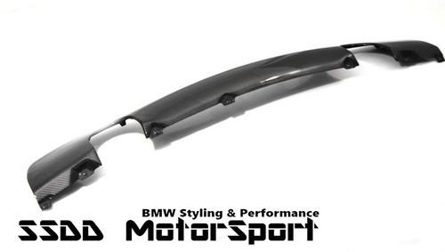 BMW E90 E91 Msport Performance look Carbon Fibre Rear Diffuser 335