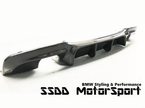 E90 E91 335 335d M5 GT look rear diffuser