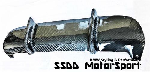 Carbon fibre add-on trim cap for E92 E93 Performance Sport Diffuser