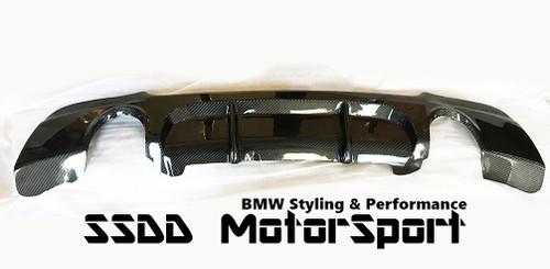 E92 E93 Msport Performance Full Carbon Fibre Rear Diffuser