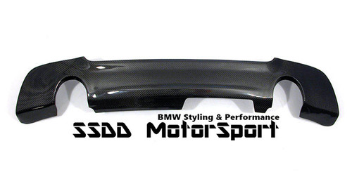 Carbon fibre E92 E93 MSport rear diffuser