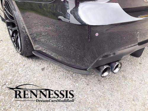 Carbon fibre rear bumper extensions for E90 E91 E92 E93 msport