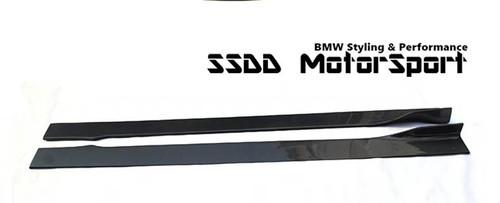 E90 E91 E92 E93 Msport carbon fibre side skirt extensions