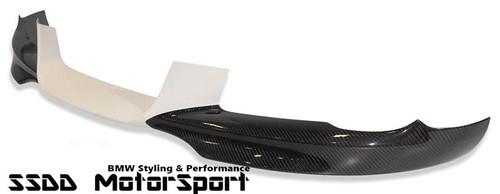 Aero front spoiler with carbon fibre edges for BMW E92 E93 SE Pre-LCI models