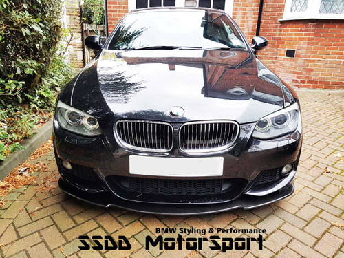 Carbon fibre  bottom splitter for E92 E93 Msport pre and LCI models