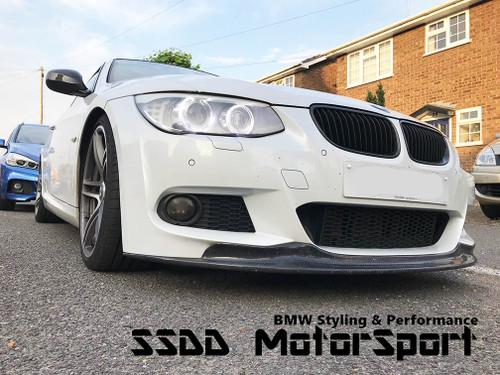 Arkym style front splitter for BMW E92 E93 LCI MSport