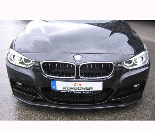 Kerscher carbon fibre front spoiler for BMW F30 F31 Msport