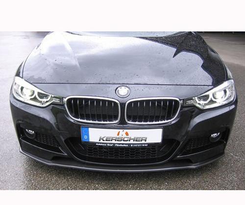 Kerscher carbon fibre front spoiler for BMW F30 F31 Msport