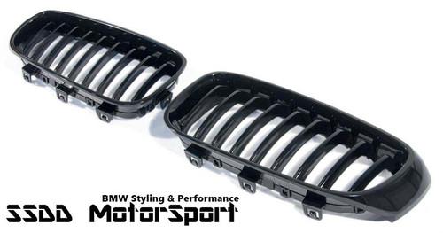 BMW F34 GT black kidney grilles