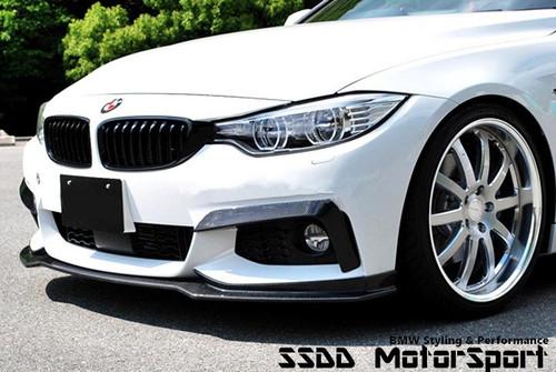 BMW F32 F33 F36 Msport EVO Carbon Fibre Front Splitter