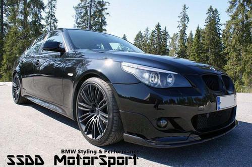 BMW E60 E61 Msport Carbon Fibre Front Splitter