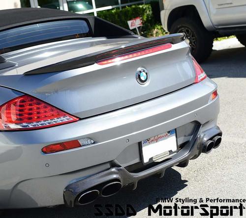 BMW E63 E64 M6 Racing Diffuser